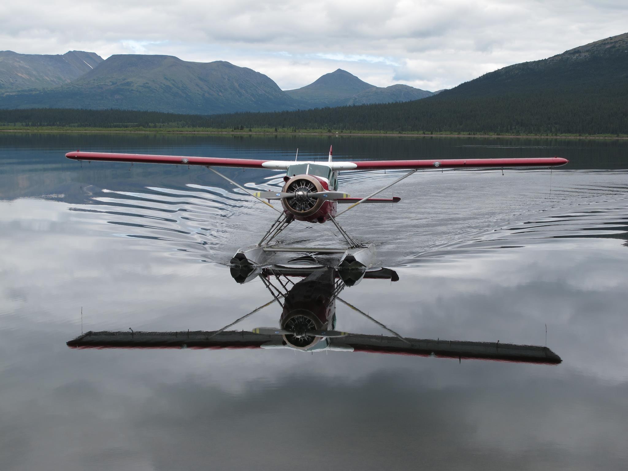 hunting bc plane