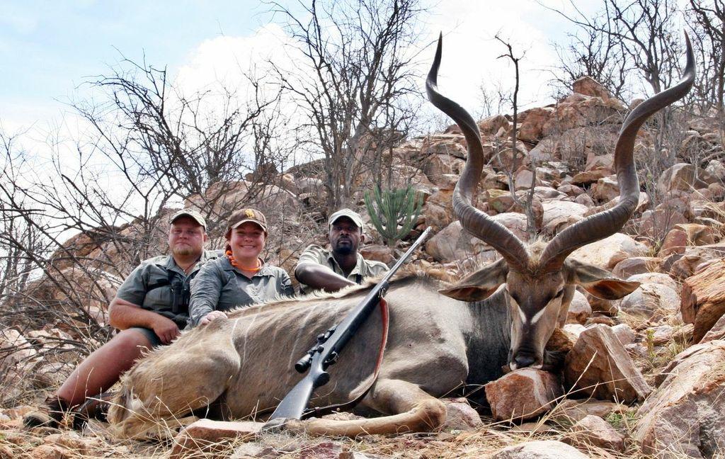 women Hunters kudu