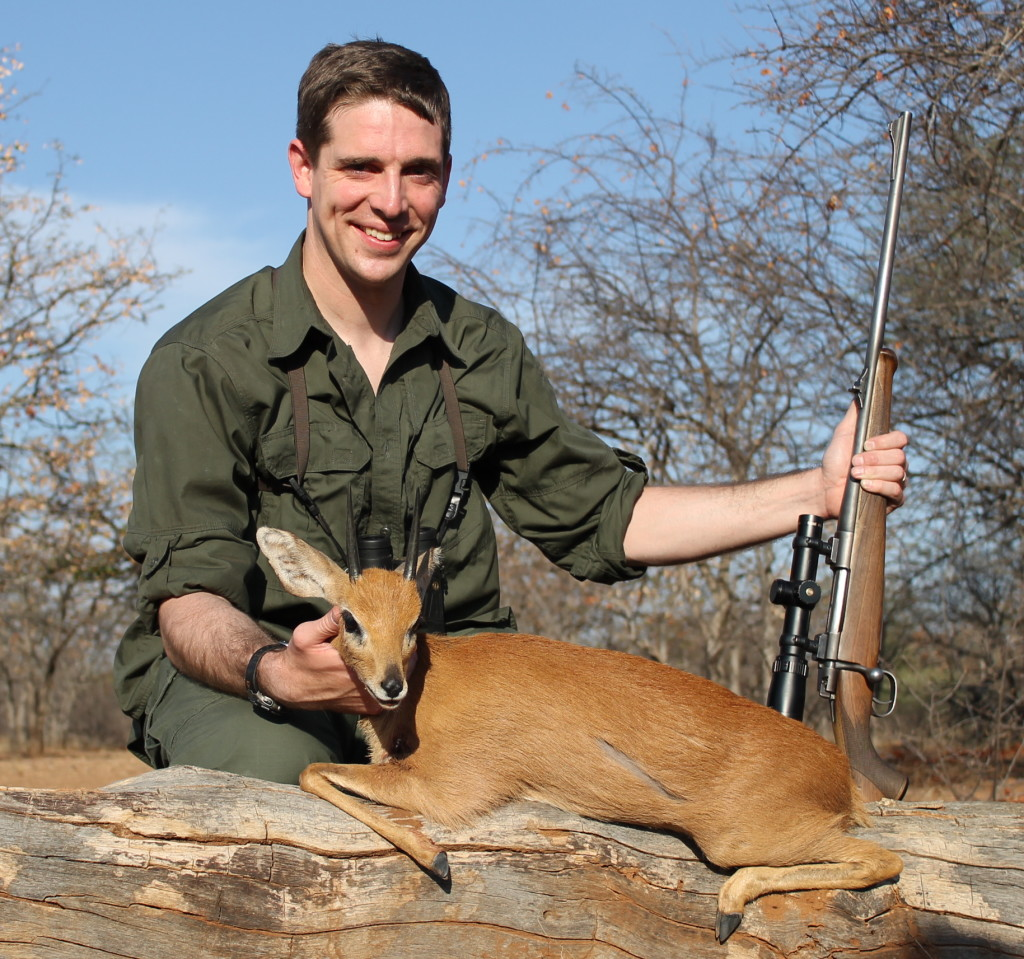 trophy steenbok hunting in south africa 1