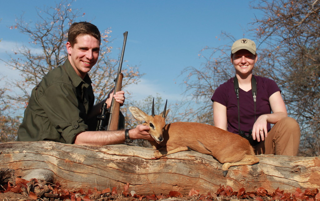 trophy steenbok hunting in south africa 2