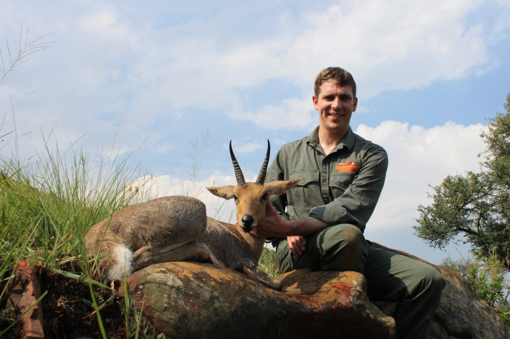 trophy mountain reedbuck hunting in south africa world record