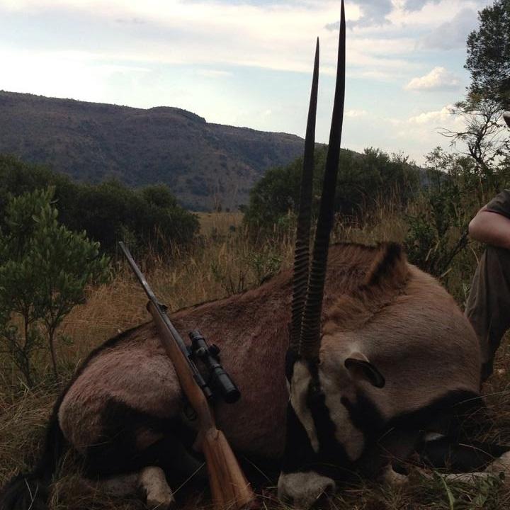 Trophy Gemsbok Hunting In South Africa 3