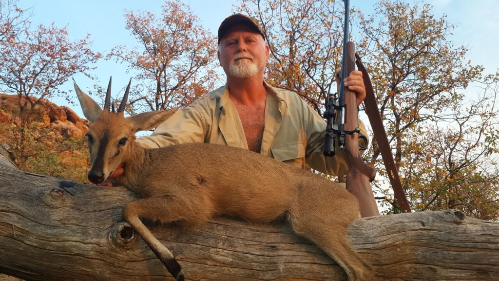trophy duiker hunting in south africa september 2015