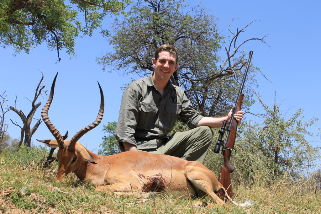 african plains game hunting safari impala