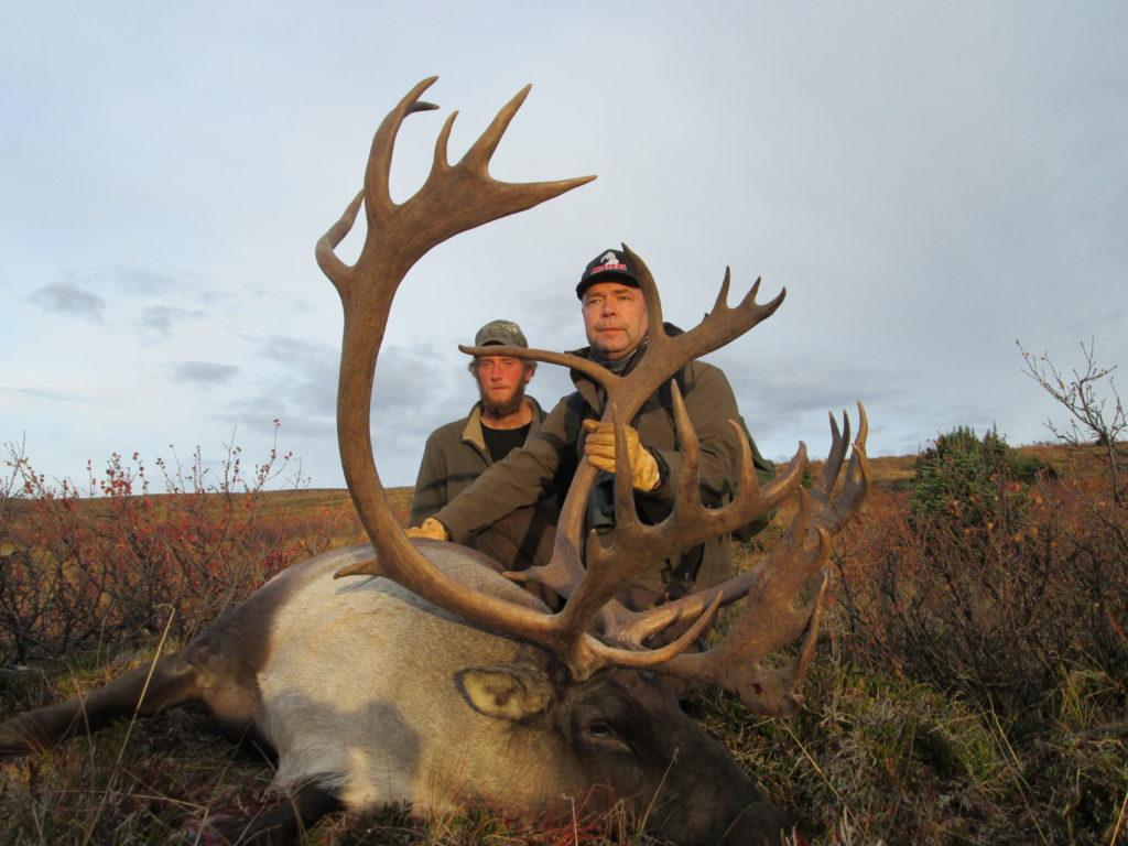 Canada hunting photos caribou