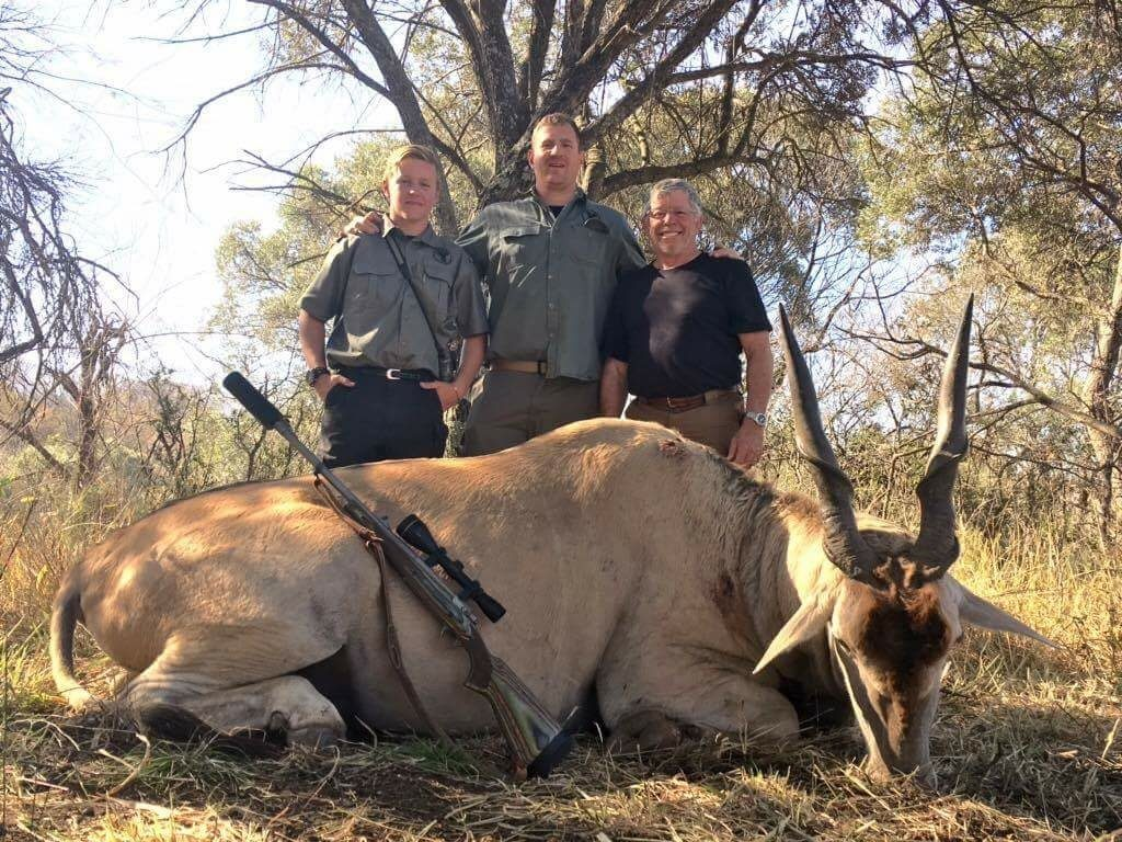 South Africa hunting photos eland