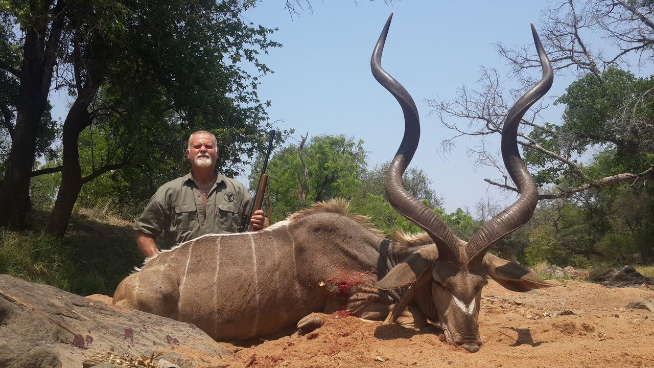 South Africa hunting photos kudu