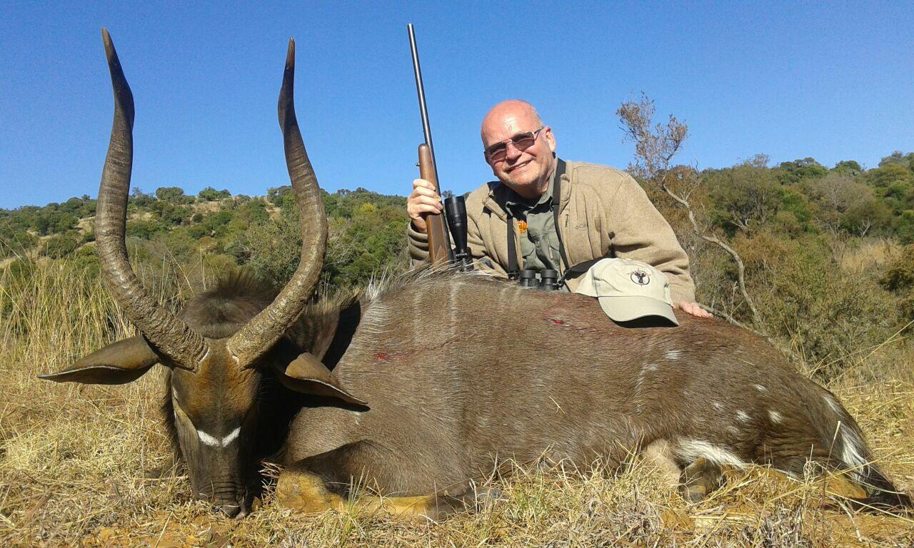 South Africa hunting photos nyala