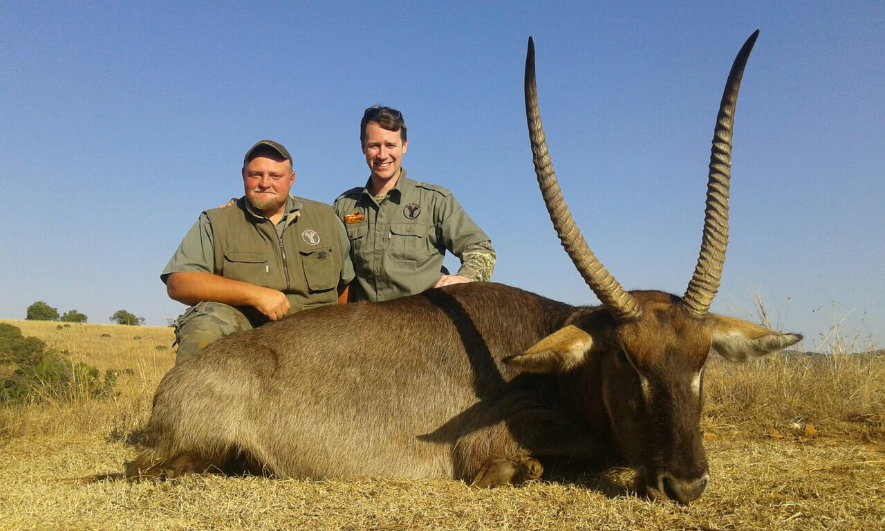 South Africa hunting photos waterbuck